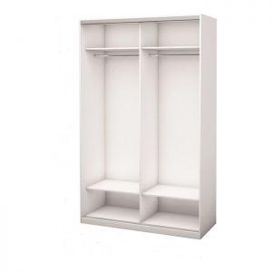 Белый 2-х дверный 600 №1