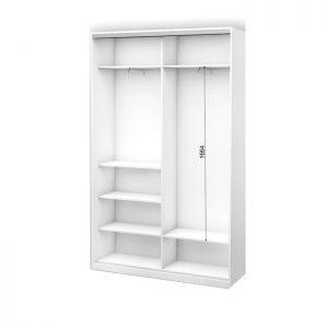 Белый 2-х дверный 1200 450 №3