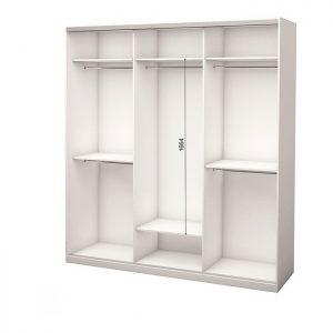Белый 3-х дверный 1800 600 №1