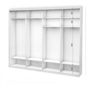 Белый 4-х дверный 2400 450 №1
