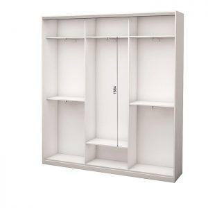 Белый 3-х дверный 1800 450 №1