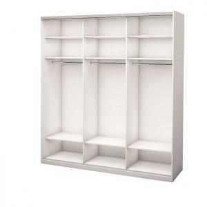 Белый 3-х дверный 1800 600 №2