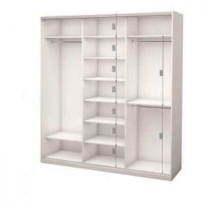Белый 3-х дверный 1800 600 №3