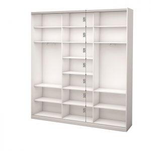 Белый 3-х дверный 1800 450 №4