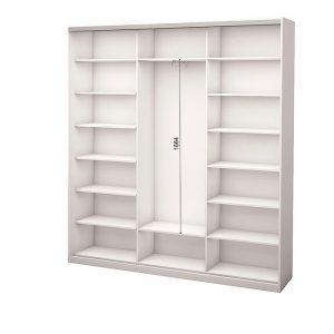 Белый 3-х дверный 1800 450 №5
